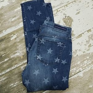 Rock & Republic Skinny crop jeans